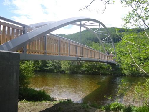 Glen Nevis Footpath Bridge